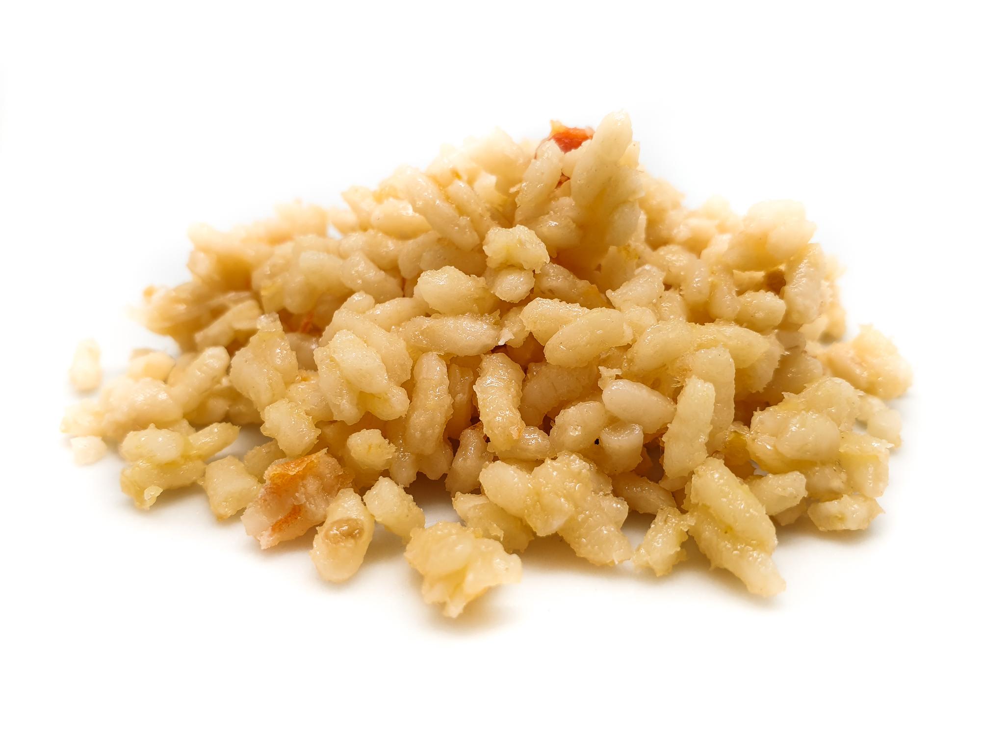 Base de arroz para terminar